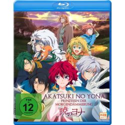 Akatsuki No Yona - Prinzessin der Morgendämmerung - Volume 5 (Episoden 21-24) Pozostałe
