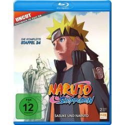 Naruto Shippuden - Staffel 24: Sasuke und Naruto (Folgen 690-699) [2 BRs]
