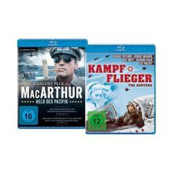 Bundle: MacArthur - Held des Pazifik / Kampfflieger LTD. [2 BRs] Filmy
