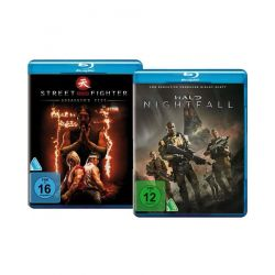 Bundle: Halo Nightfall / Street Fighter: Assassin's Fist LTD. [2 BRs] Filmy