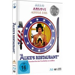 Alice`s Restaurant - Limited Deluxe Mediabook-Edition (Blu-ray+DVD+CD+Booklet) Filmy