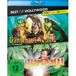 Gänsehaut / Jumanji - Best of Hollywood/2 Movie Collector's Pack [2 BRs] Zagraniczne