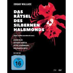 Edgar Wallace: Das Rätsel des silbernen Halbmonds (Mediabook, 1 Blu-ray + 2 DVDs) Filmy