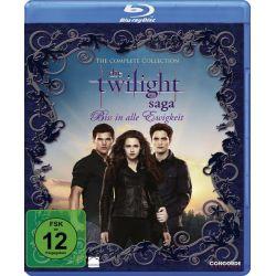 Die Twilight Saga - Biss in alle Ewigkeit/The Complete Collection [Blu-ray] Filmy