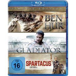 Ben Hur / Gladiator / Spartacus [3 BRs] Pozostałe