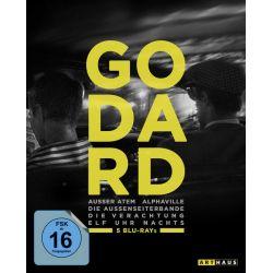 Jean-Luc Godard Edition [5 BRs] Zagraniczne