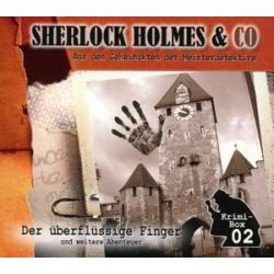 Sherlock Holmes & Co - Die Krimi Box 2/3 CDs