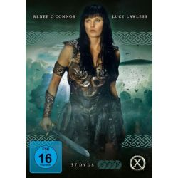 Xena - Warrior Princess [Die komplette Serie mit 37 DVDs, Booklet und Schuber]