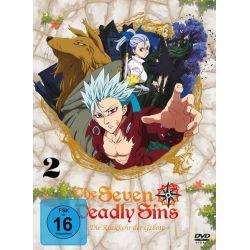 The Seven Deadly Sins - Die Rückkehr der Gebote - 2. Staffel/Vol. 2 (Eps. 7-12) [2 DVDs]