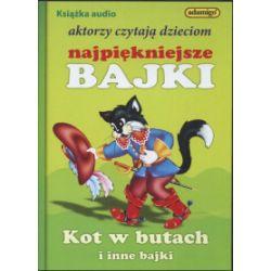 Aktorzy czytają dzieciom najpiękniejsze bajki. Kot w butach i inne bajki. Audiobook - Praca zbiorowa - Audiobook CD