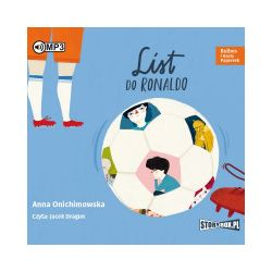 Bulbes i Hania Papierek. List do Ronaldo. Audiobook - Anna Onichimowska - Audiobook CD