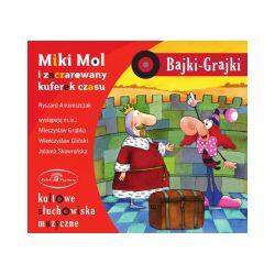 Bajki-Grajki. Miki Mol i zaczarowany kuferek czasu. Audiobook - praca zbiorowa - Audiobook CD