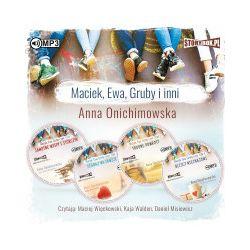 Pakiet Maciek, Ewa, Gruby i inni. Audiobook - Anna Onichimowska - Audiobook CD