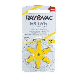Rayovac Extra Advanced 10 EMF baterie do aparatów słuchowych - 6szt. - Do aparatów słuchowych - Baterie