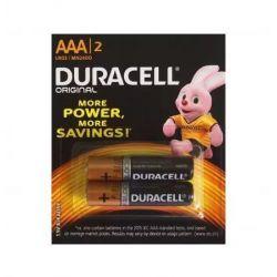 Baterie Alkaliczne typ AAA LR03 1,5V - 2szt. Duracell - Paluszki - Baterie