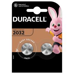 Litowa bateria pastylkowa 2032 - Duracell 2szt. - Specjalistyczne - Baterie