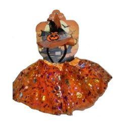 Strój. Halloween z kapeluszem, pomarańczowy - Zabawka, od 6 lat