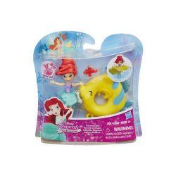 Disney Princess. Pływająca mini laleczka, Arielka - Zabawka, od 4 lat