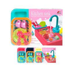 Zestaw kuchenny, zlew, mix wzorów - Zabawka, od 3 lat