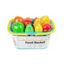 Zestaw kuchenny, owoce w koszyku - Zabawka, od 3 lat