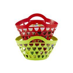 Koszyk z produktami spożywczymi, mix wzorów - Zabawka, od 18 miesięcy