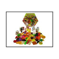 Art. spożywcze 100 elementów w pud. 8123 - Zabawka
