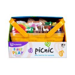 Koszyk piknikowy z akcesoriami - Zabawka, od 3 lat