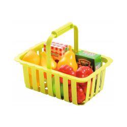 Koszyk na zakupy z produktami - Zabawka, od 18 miesięcy
