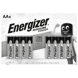 Bateria alkaliczna AA / LR6 Energizer Alkaline Power - 8 sztuk (blister) Pozostałe