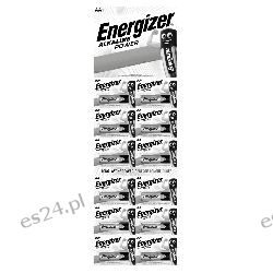 Bateria alkaliczna AA / LR6 Energizer Alkaline Power - 12 sztuk (blister) Pozostałe