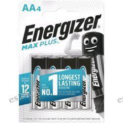 4 x Bateria alkaliczna Energizer MAX Plus LR6/AA Pozostałe