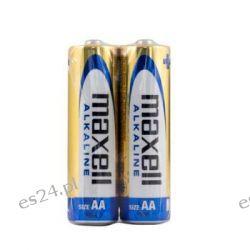 Bateria alkaliczna AA / LR6 Maxell Alkaline - 2 sztuki (shrink) Pozostałe