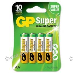Bateria alkaliczna GP Super Alkaline LR6/AA-4 szt AA (R6)