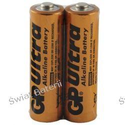 Baterie alkaliczne LR6 AA GP Ultra Alkaline Industrial - taca 2szt Pozostałe