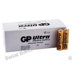 Baterie alkaliczne LR6 AA GP Ultra Alkaline Industrial - karton 40szt. Pozostałe