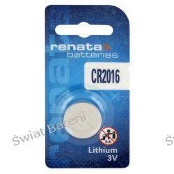 bateria litowa Renata CR2016 (blister) x10 hurt/1,40zł-1szt Pozostałe