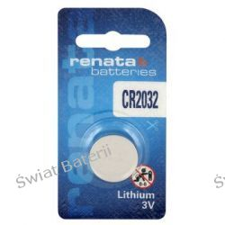 bateria litowa Renata CR2032(blister) x10szt hurt/1,40zł-1 szt