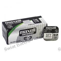 SR626sw Maxell  baterie zegarkowe 10szt /1,20 zł 1szt Pozostałe
