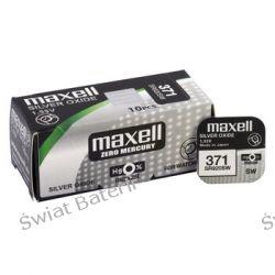SR920,371 baterie Maxell,srebrowe 10 szt/1 szt 2 zł Pozostałe