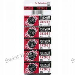 CR2032 Maxell 3V bateria litowa kpl 5 szt/1,20zł 1szt Baterie