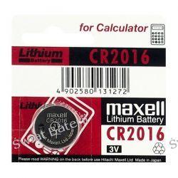 CR2016 Maxell 3V bateria litowa 1 szt-3 zł Pozostałe