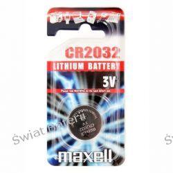 CR2032 Maxell 3V bateria litowa 3zł/ 1szt Pozostałe