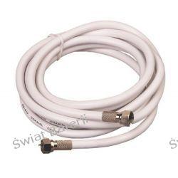 Kabel ,przyłącze antenowe,przedłużacz antenowy 5 mb Pozostałe