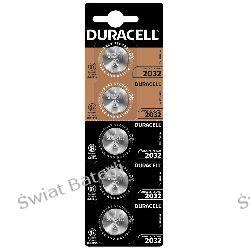 CR2032 blister 5 szt. baterii litowych Duracell Baterie
