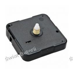 Mechanizm zegara ściennego-werk cichy,skokowy 6 mm Biżuteria i Zegarki