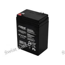 Akumulator żelowy 6V 4 Ah żelowy Xtreme  Pozostałe