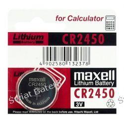 bateria litowa Maxell CR2450 Zasilanie