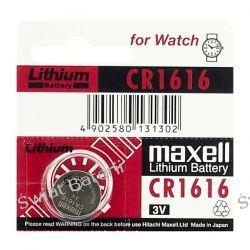 bateria litowa Maxell CR1616 Zasilanie
