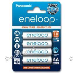 Akumulatorki AA / R6 Panasonic Eneloop 2000mAh BK-3MCCE/4BE - 4 sztuki (blister) Zasilanie
