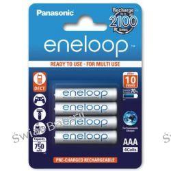 Akumulatorki Panasonic Eneloop R03 AAA 800mAh BK-4MCCE/4BE - 4 sztuki (blister) Zasilanie